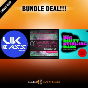 Massive Dubstep Bundle (3 in 1 - 30% OFF!)