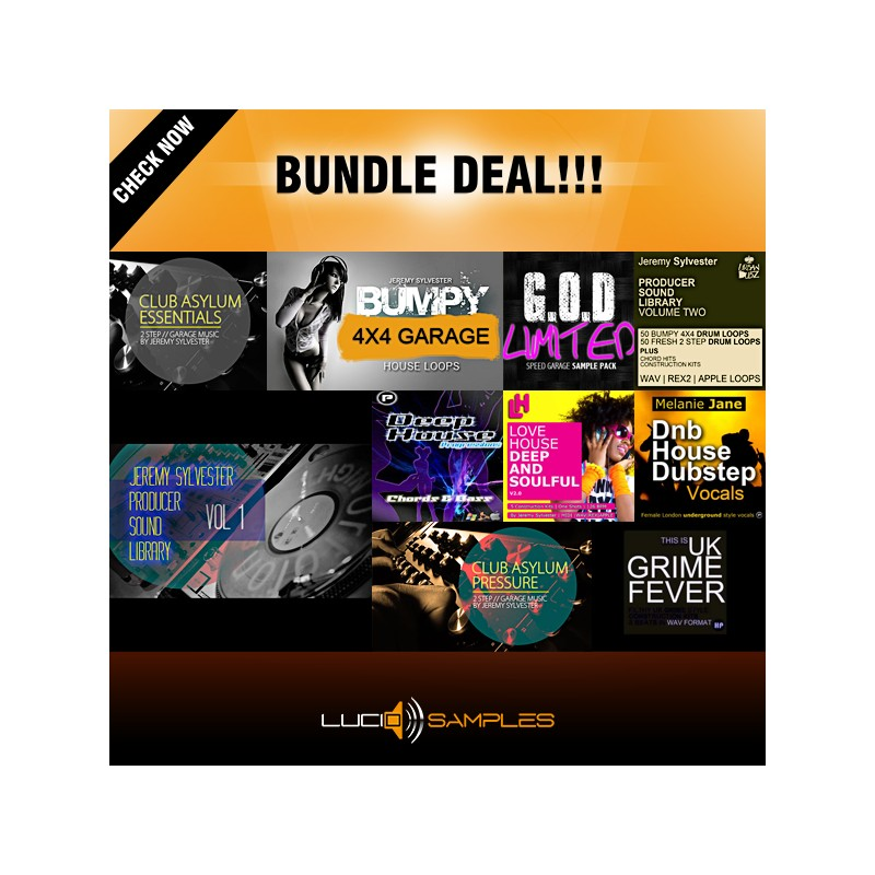 UKG Bundle 10 in 1 - 50% OFF!
