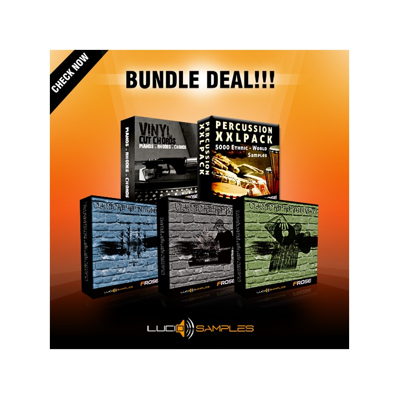 Classic Hip-Hop Bundle - 5 in 1