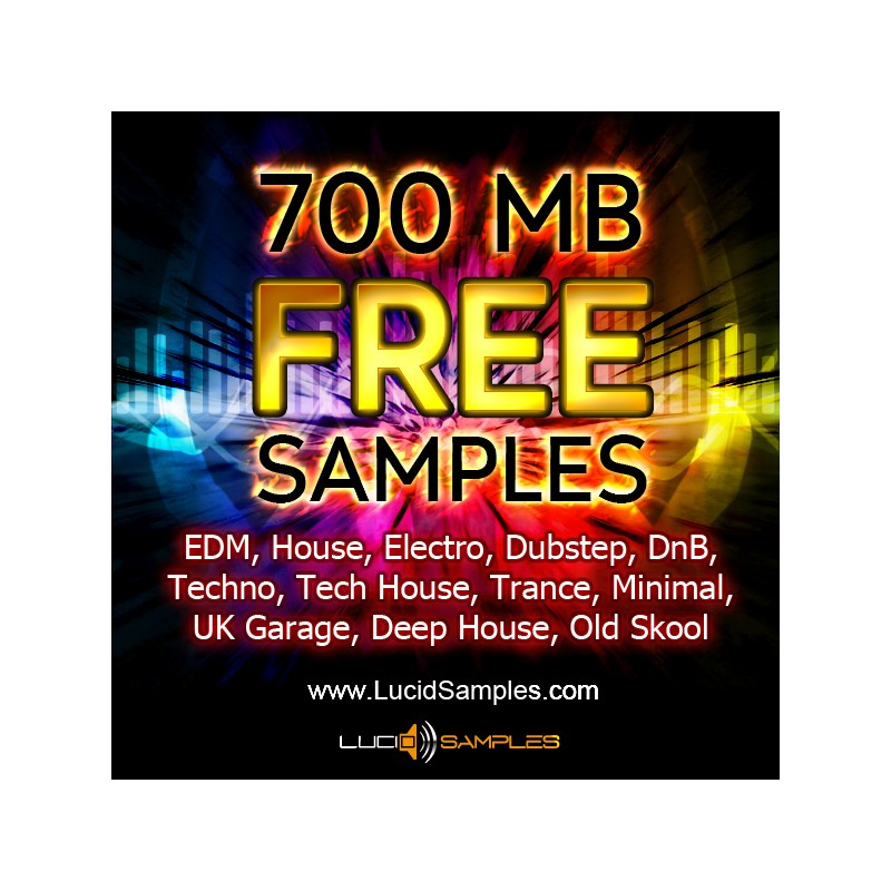 700 MB Free Samples Loops Dj Music Production Tools