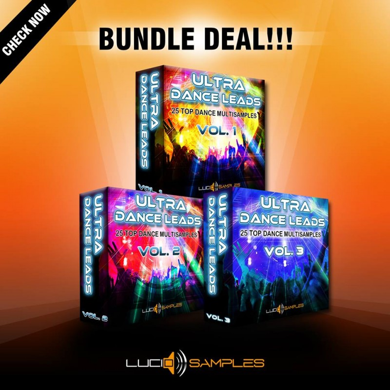 Ultra Dance Leads Bundle