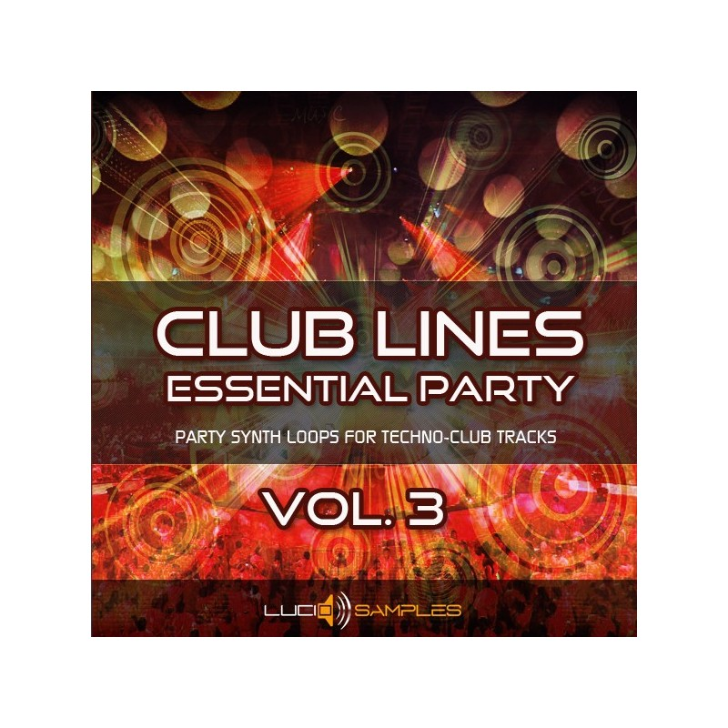 Clublines Vol. 3 - Hypnotic Lines